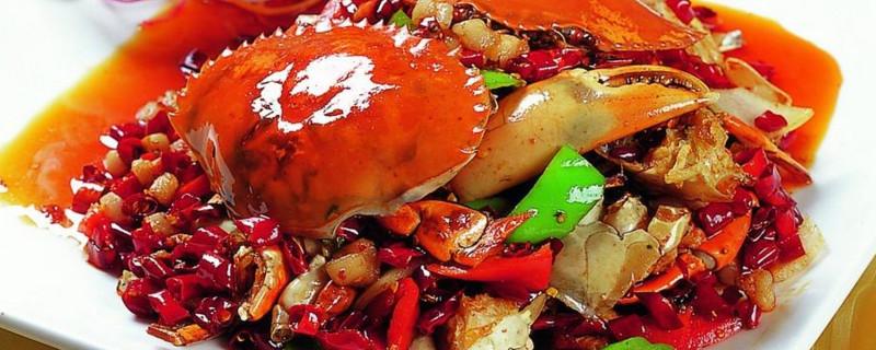 爆炒香辣蟹的做法视频