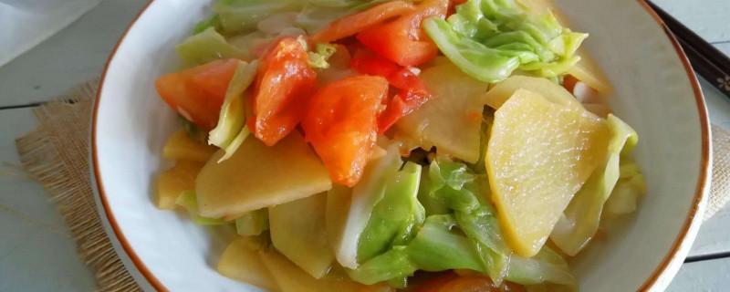 白菜和土豆怎么炒好吃