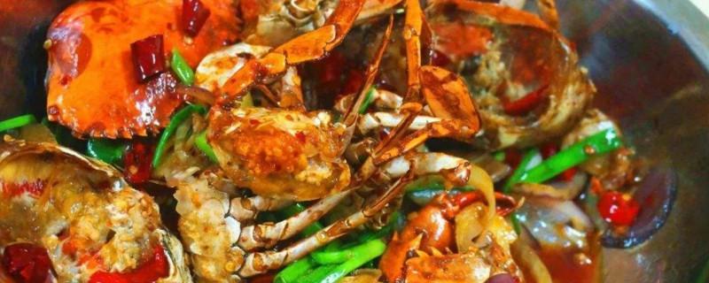 爆炒螃蟹的做法