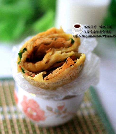 杂粮煎饼:外软内酥的又一典范  杭州杂粮饼学习
