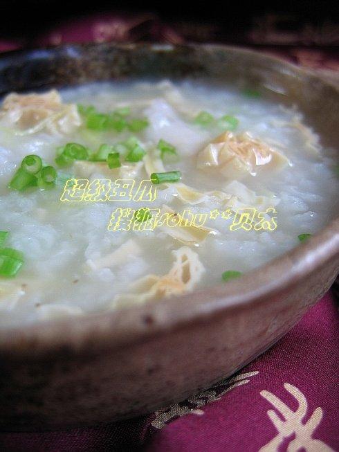 粥的做法大全(菊花粥+香菇鱼片粥+菠菜牛肉粥+腐竹鲜贝粥+什锦鸡丝粥)