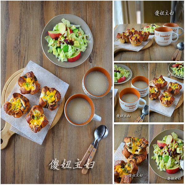 (早餐系生活15)金枪鱼吐司班尼迪的做法/清水燕麦粥的做法/牛油果沙拉的做法[傻妞主妇]