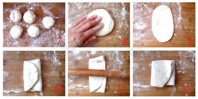 (早餐系生活19)葱香发面饼的做法/白灼虾仁西兰花的做法/小米山药粥的做法[傻妞主妇]