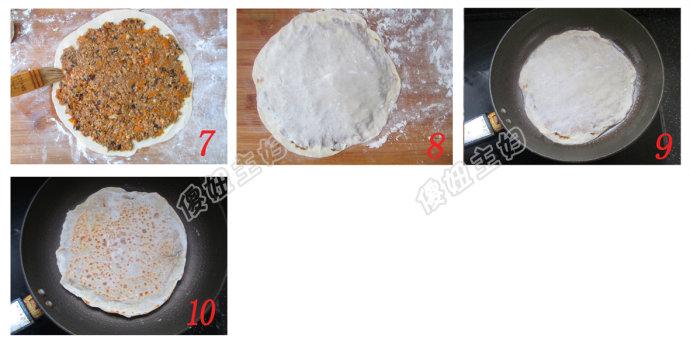 (早餐系生活23)卤肉饼的做法/豆浆的做法/拍黄瓜的做法[傻妞主妇]