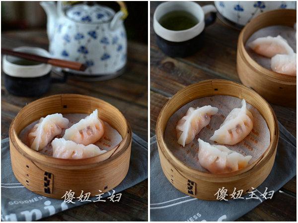 (早餐系生活37)虾饺的做法/豆腐汤的做法/蒸山药的做法[傻妞主妇]