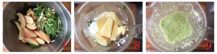 (早餐系生活43)苹果凤梨乳酪沙拉的做法/优格蔬果汁的做法[傻妞主妇]