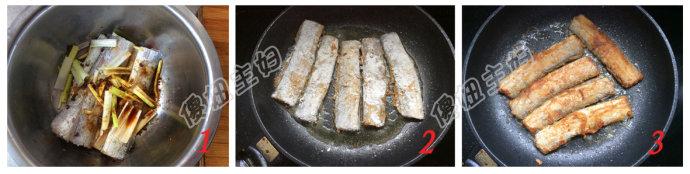 (早餐系生活45)味噌荞麦面的做法/煎带鱼的做法/烤花生碎的做法[傻妞主妇]