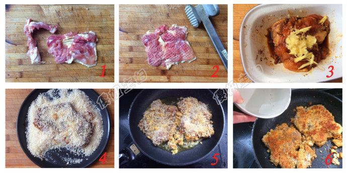 (早餐系生活47)鸡肉三明治的做法/香蕉坚果浆的做法[傻妞主妇]