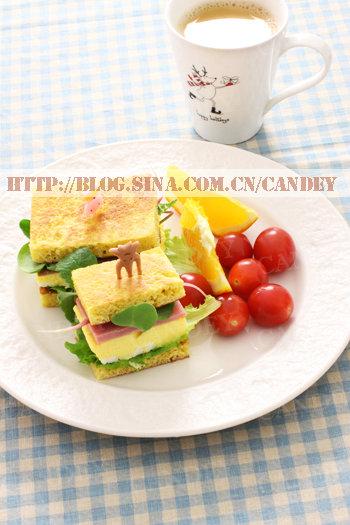 (每日小学生早餐)奶茶的做法/玉米薄饼的做法[CANDEY]