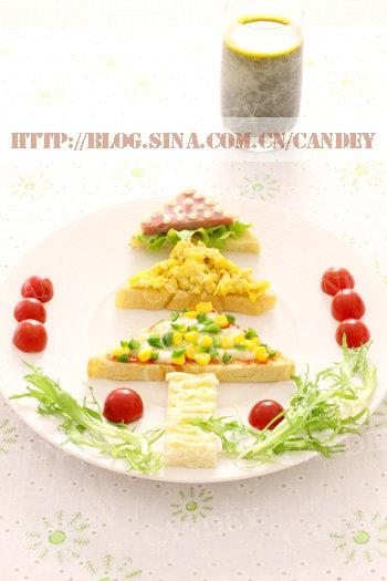 (每日小学生早餐)核桃枸杞黑芝麻牛奶的做法/烤吐司条的做法[CANDEY]