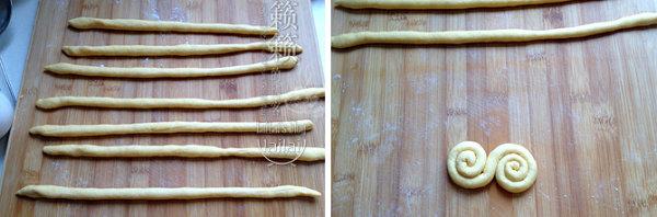 荞麦馒头的做法/南瓜卷馒头的做法/黑芝麻+南瓜双色馒头的做法/开口笑杂粮馒头的做法[CANDEY]