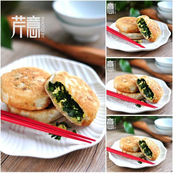 韭菜馅饼的做法/韭菜馅饼怎么做好吃[芹意qin]