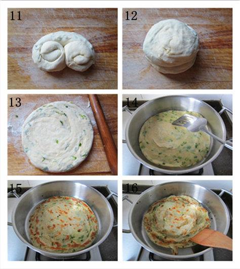 鸡油香葱手抓饼的做法/鸡油香葱手抓饼怎么做好吃[芹意qin]