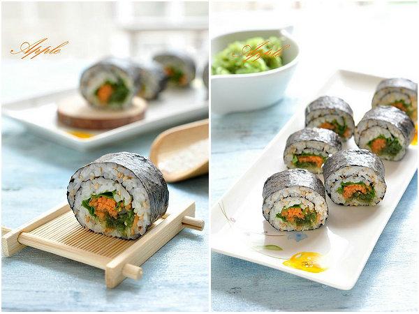 海藻寿司的做法[苹果小厨]