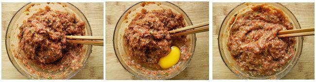 芹菜肉馅和豆角肉馅饺子的做法