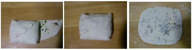 私房秘制香酥牛肉千层饼的做法