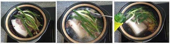 回锅肉夹馍的做法