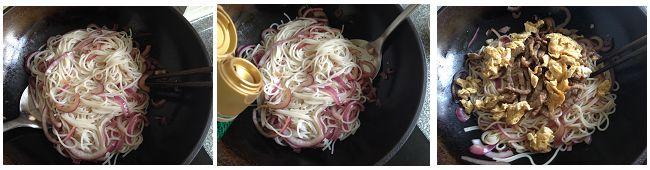 牛肉炒粉的做法