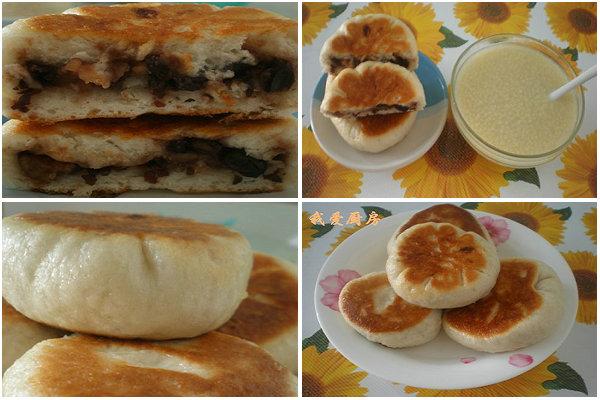 【饼的做法】三伏天做煎饼不流汗:电饭锅版红豆煎饼