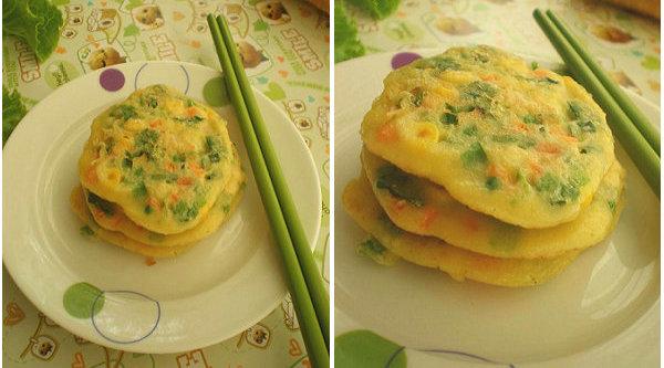 【煎饼的做法】煎饼也营养:什锦蔬菜煎饼