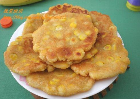 【饼的做法】香甜玉米饼(让人放松心情的香甜面食)