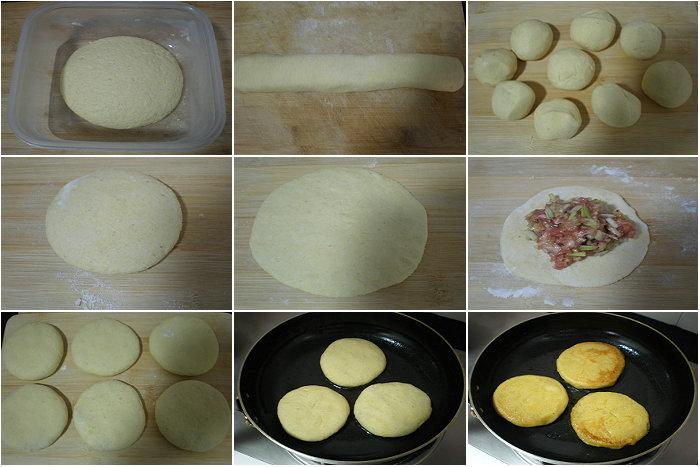 【煎饼的做法】鲜肉韭黄煎饼
