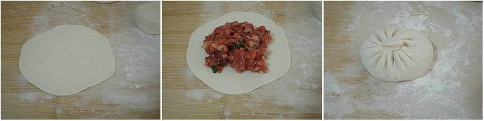 【水煎包的做法】牛肉水煎包