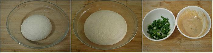 【饼的做法】腐乳葱花卷饼