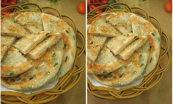 【葱油饼的做法】百吃不厌的葱油饼