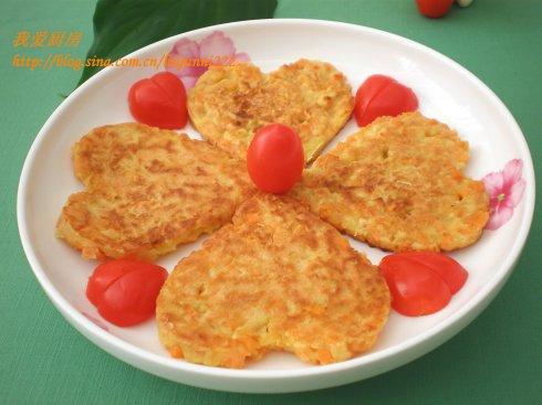【煎饼的做法】红薯鸡蛋煎饼