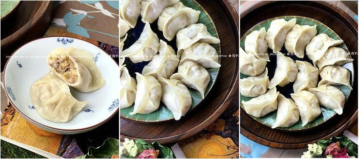 烫面酸菜蒸饺的做法-东北家常面食
