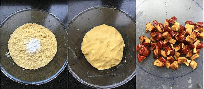 红枣粗粮窝头的做法