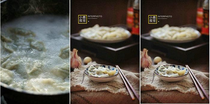 韭菜素馅饺子的做法