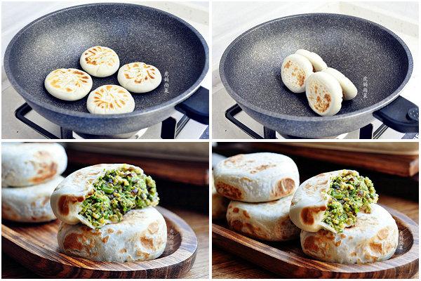 香椿鸡蛋馅饼的做法