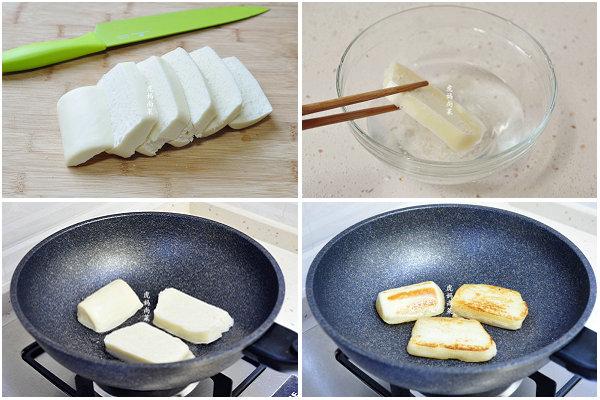 脆煎馒头片的做法,蛋煎馒头片的做法