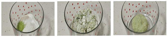 青麦卷的做法-细腻柔软绿馒头卷